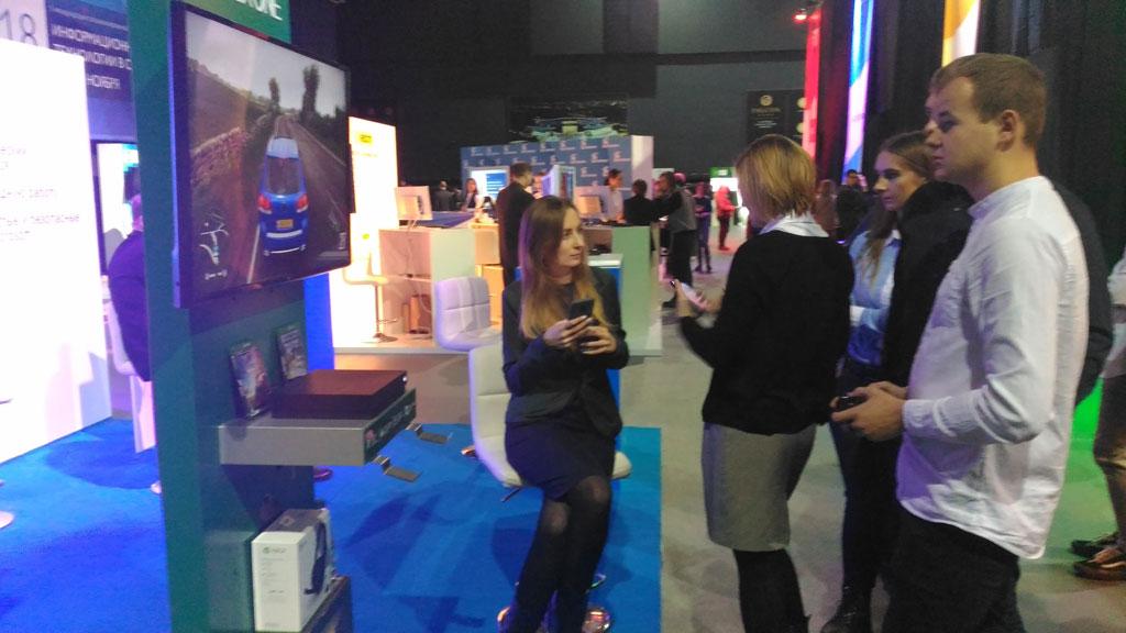 VR на выставке-форуме Информационные технологии в образовании